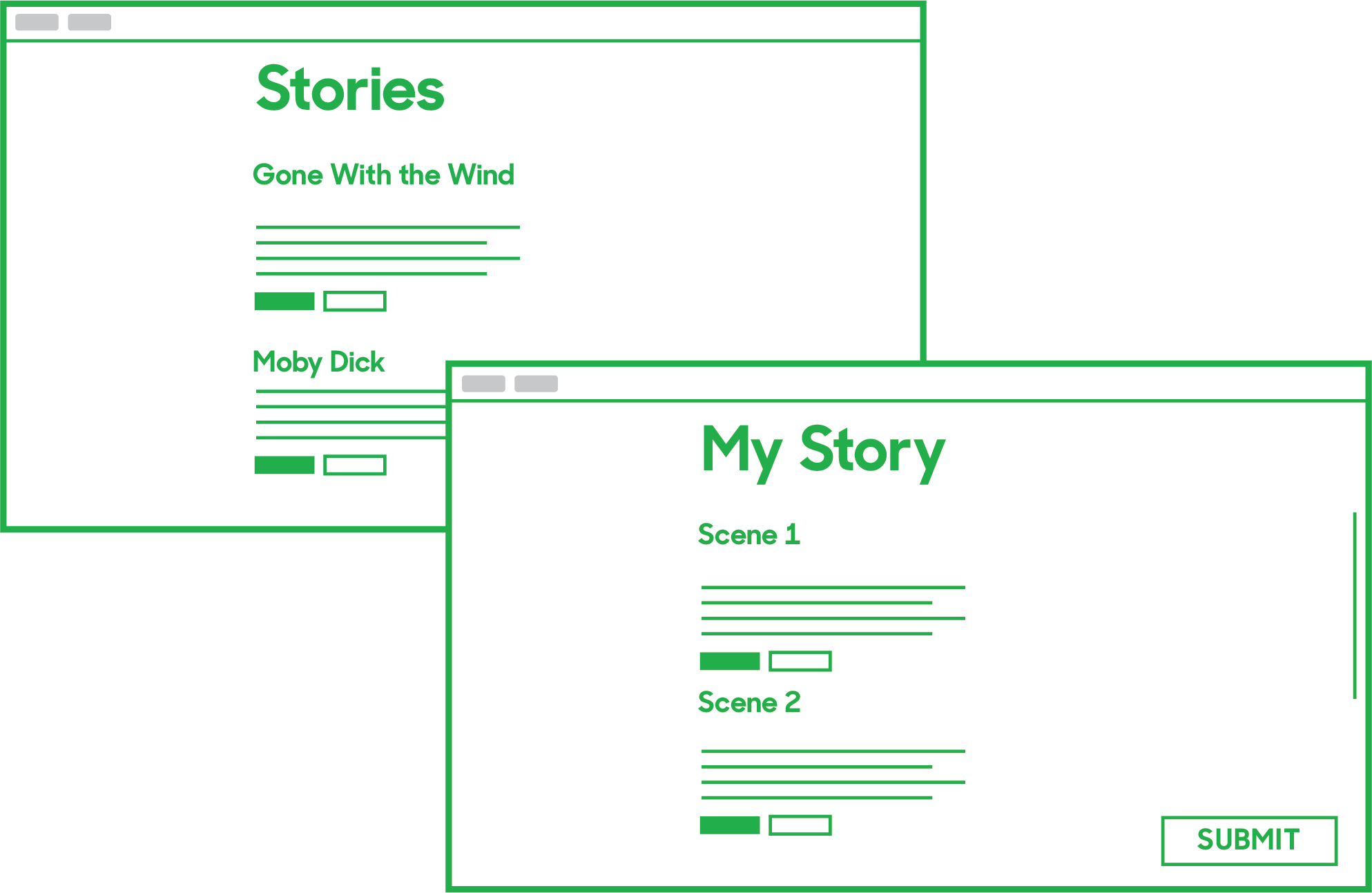 play free online stories and create your own with the story template